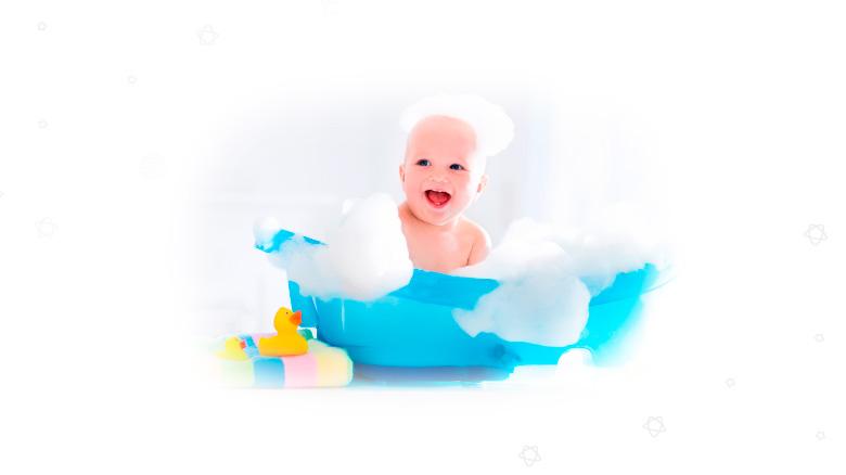 baño del bebé Comodisimos