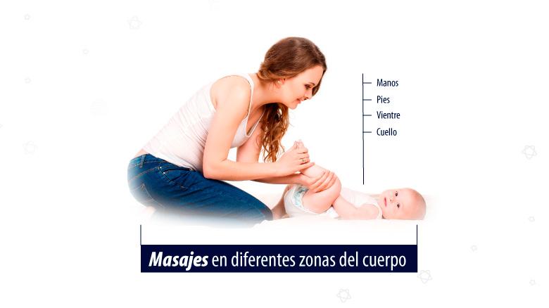 masajes para el descanso del bebé