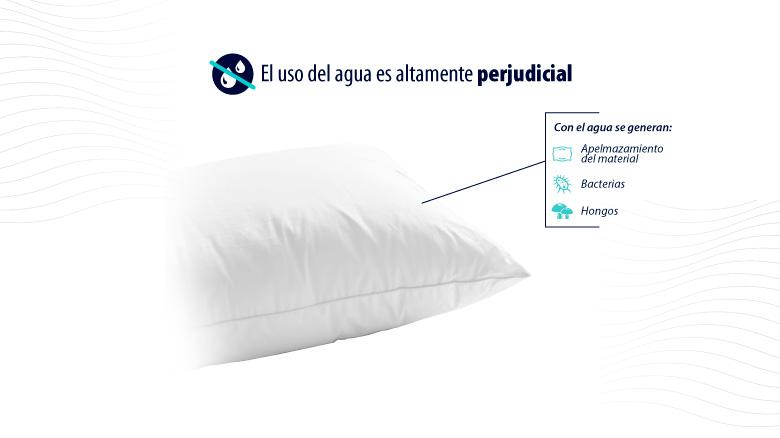 Mantener la almohada Comodísimos lejos del agua