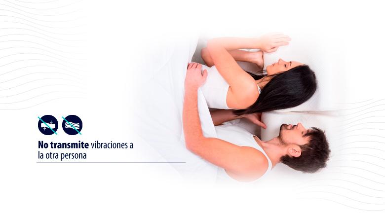 Beneficios de los colchones ortopédicos: Ideal para dormir en pareja