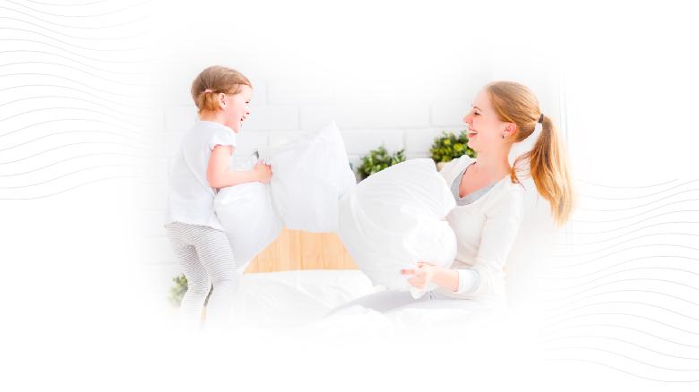 Evitar los golpes para cuidar tus almohadas