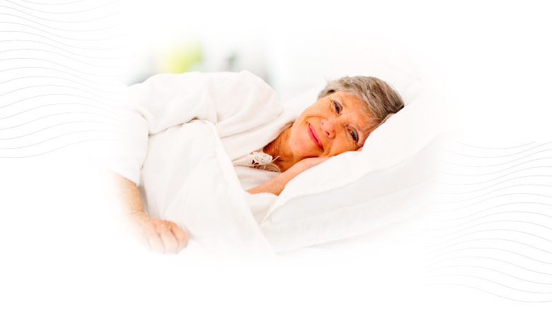 Ideal para personas que deben permanecer en cama